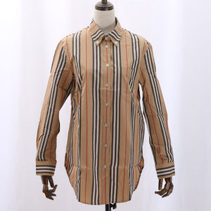 Button-down Collar Stripe Cotton Shirt